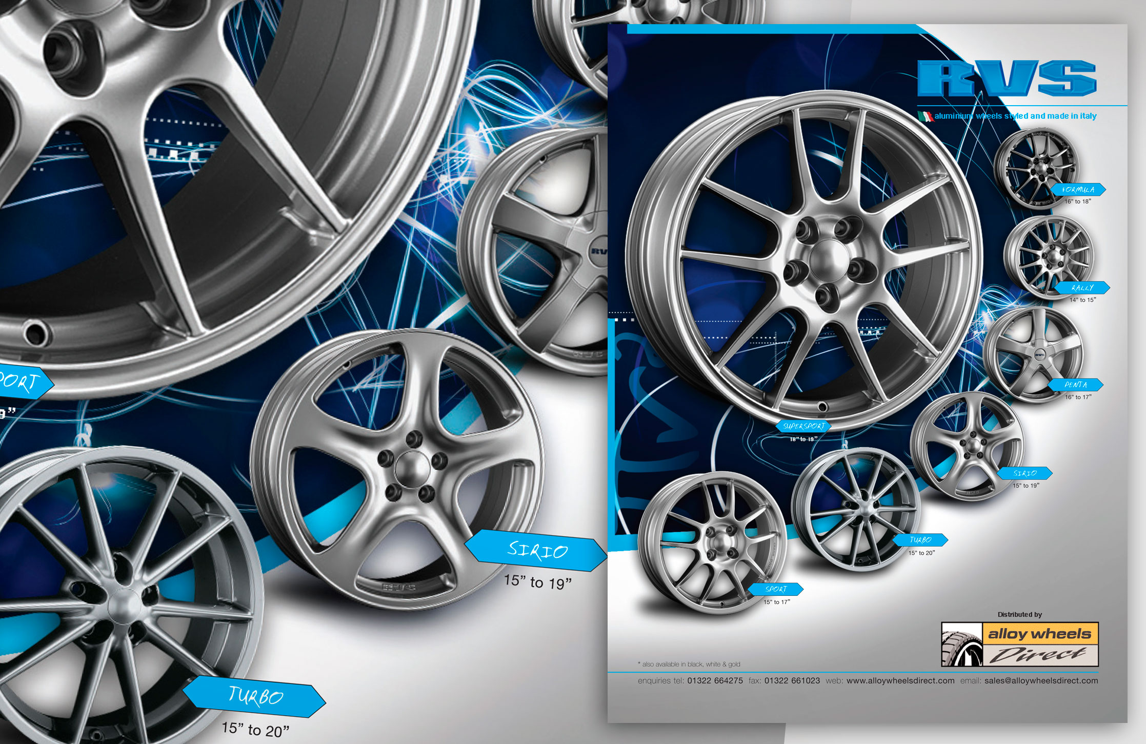 RVS Alloy Wheels Advert