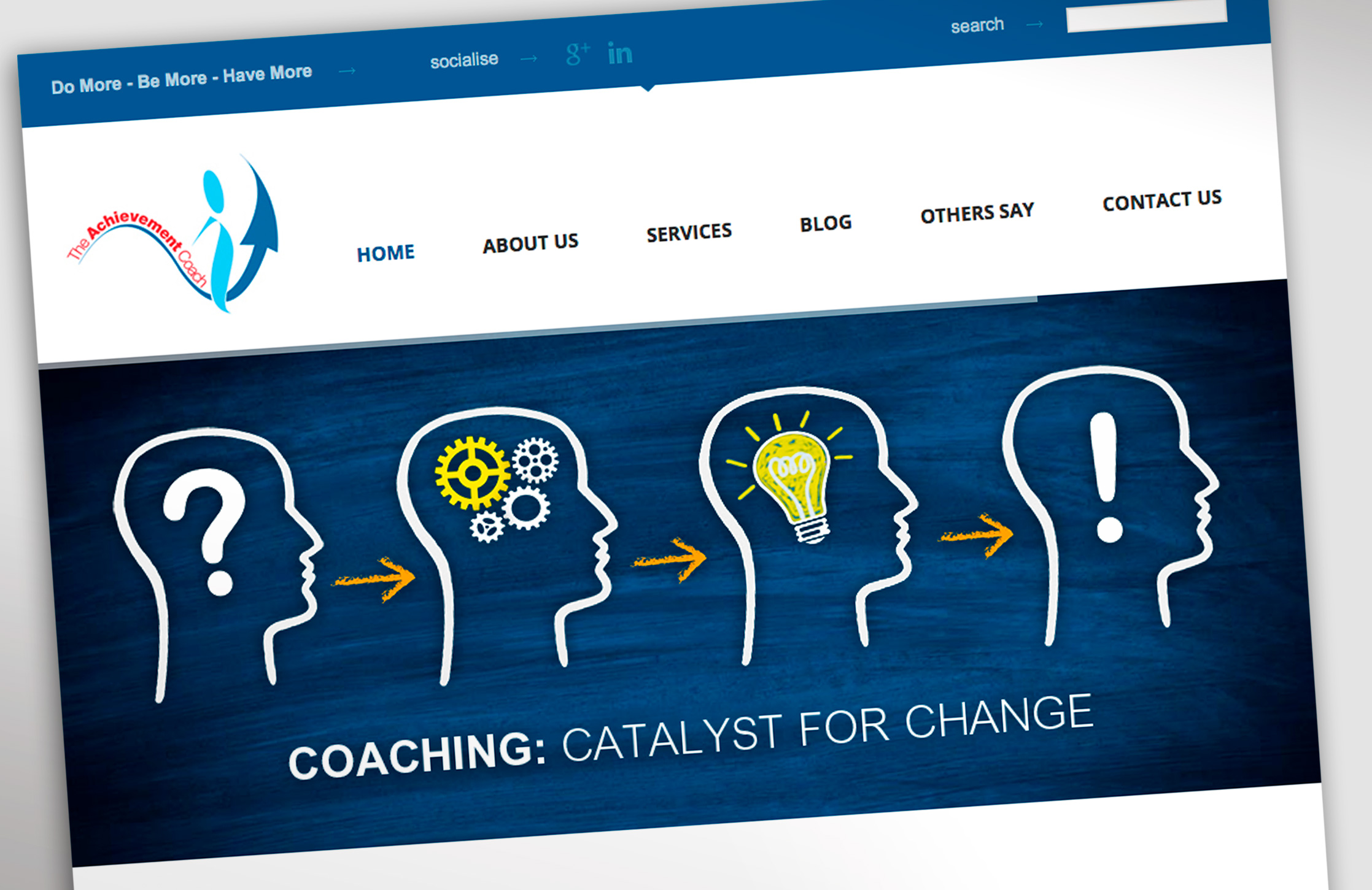 The Achievement Coach The Achievement Coach Website