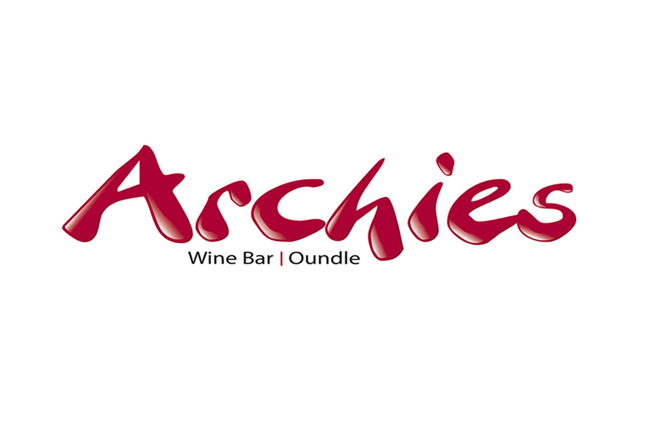 Archies Wine Bar Logo Design