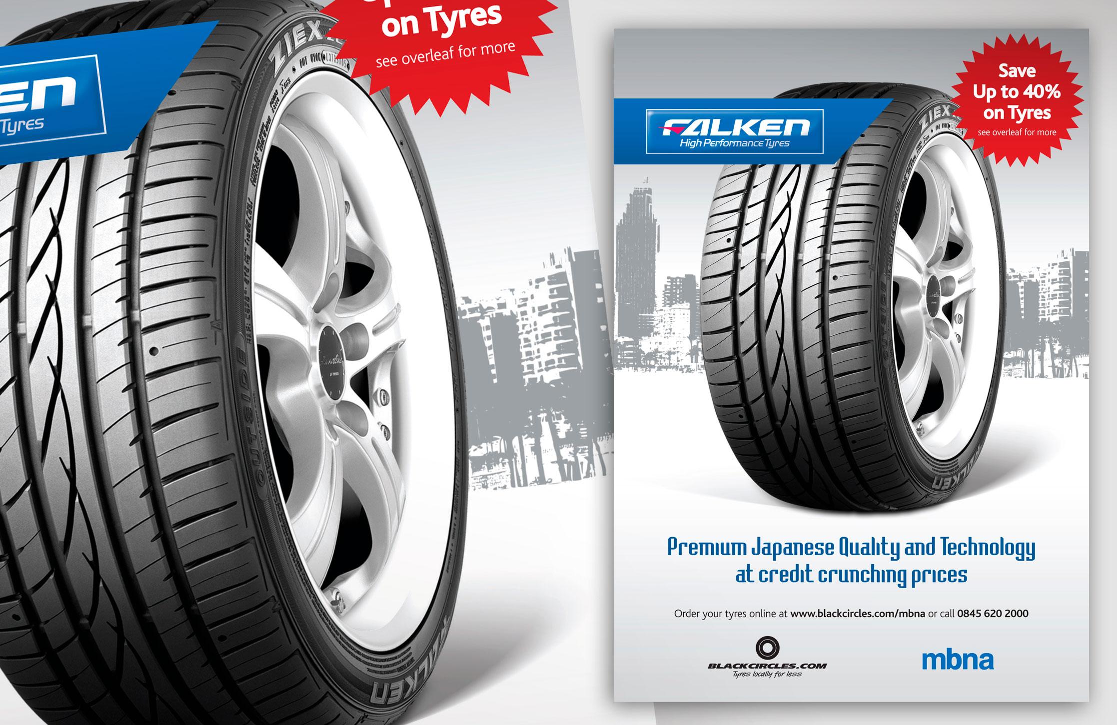 Falken High Performance tyres
