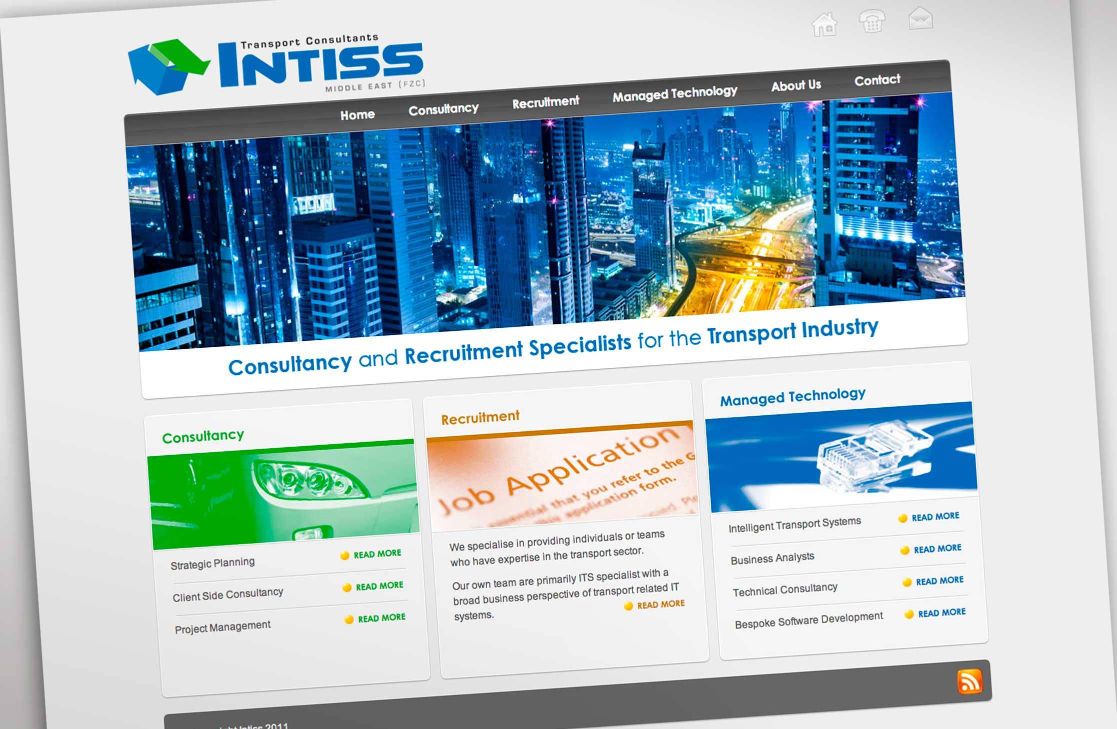 Intiss UAE Website
