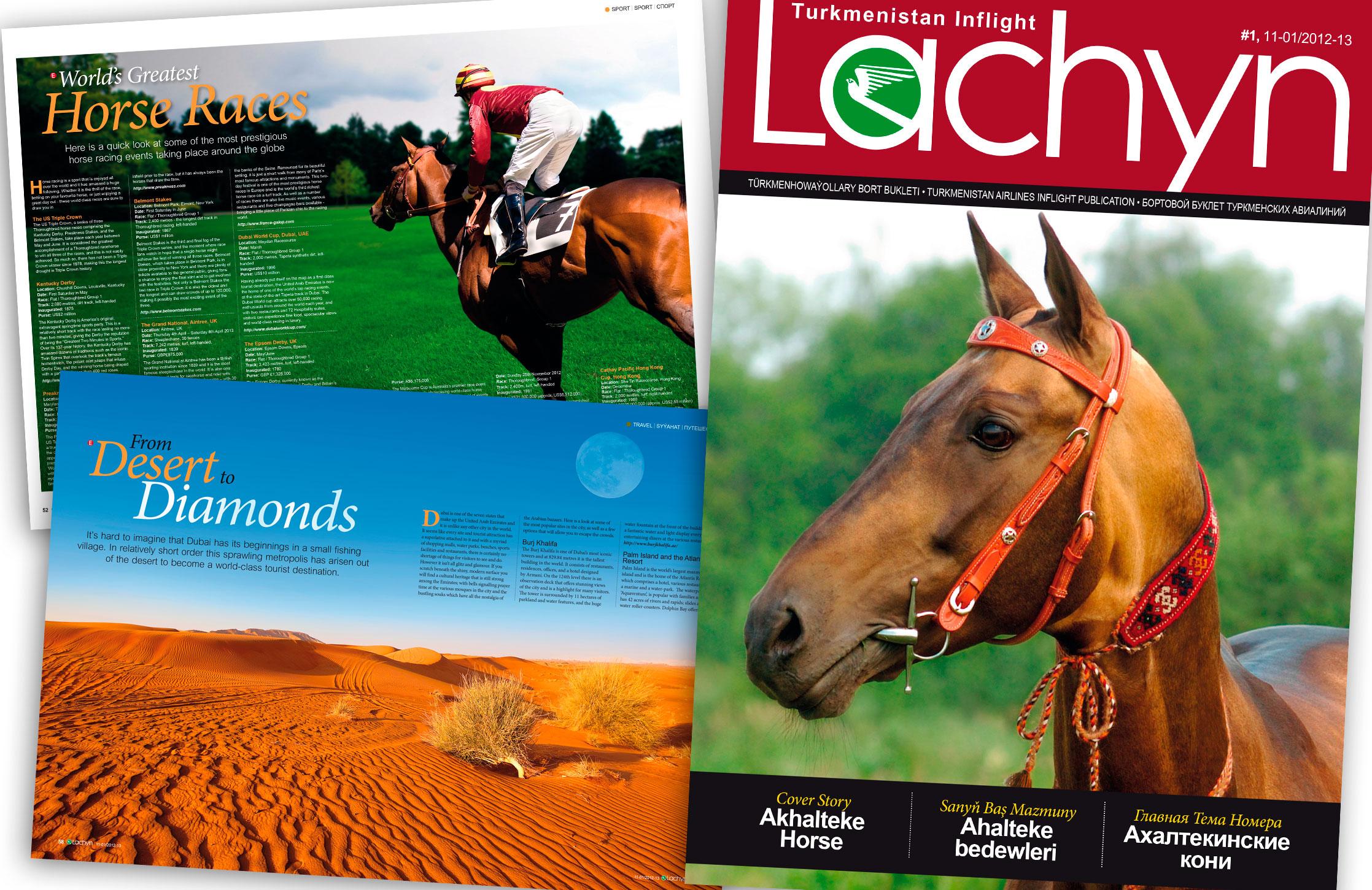 Lachyn Inflight Magazine