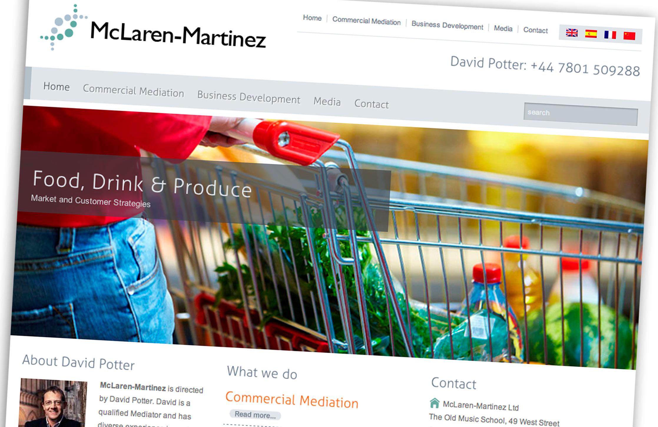 Mclaren-Martinez Website
