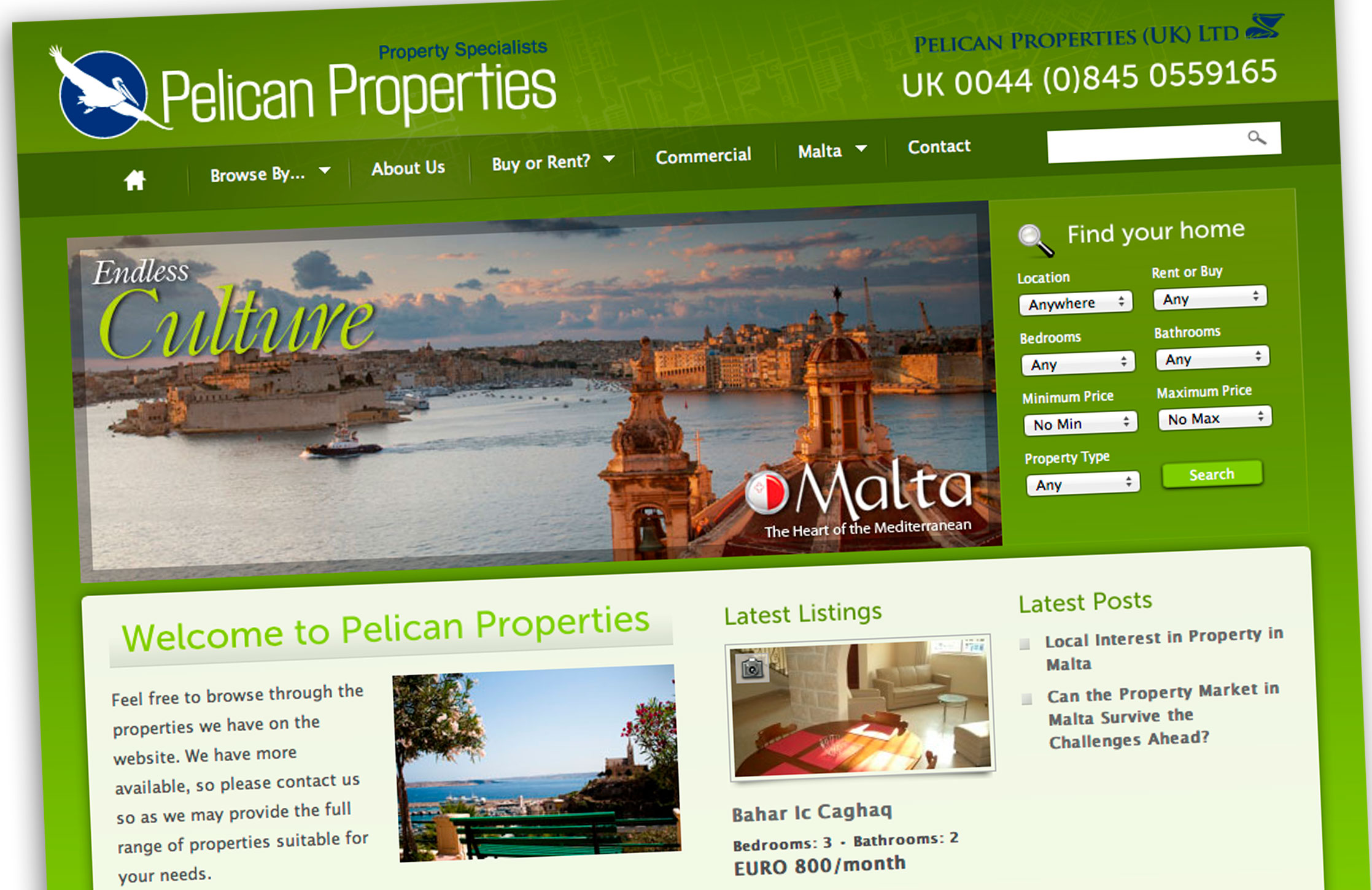 Pelican Property Website