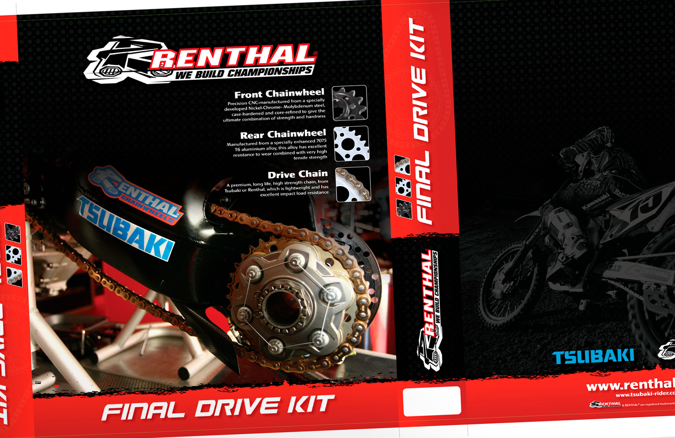 Renthal drive kits box