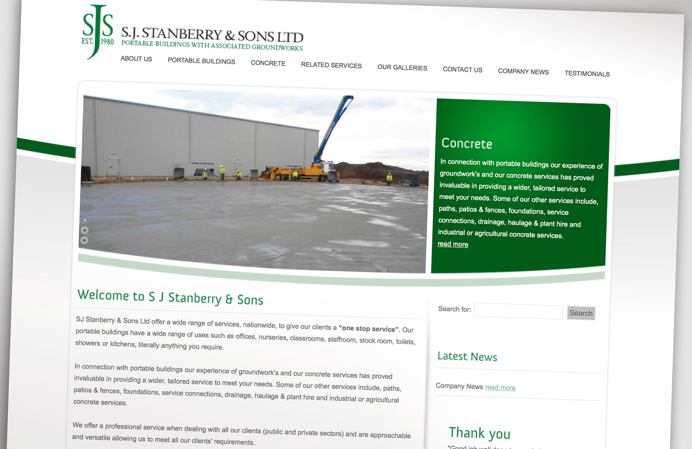 S J Stanberry Website