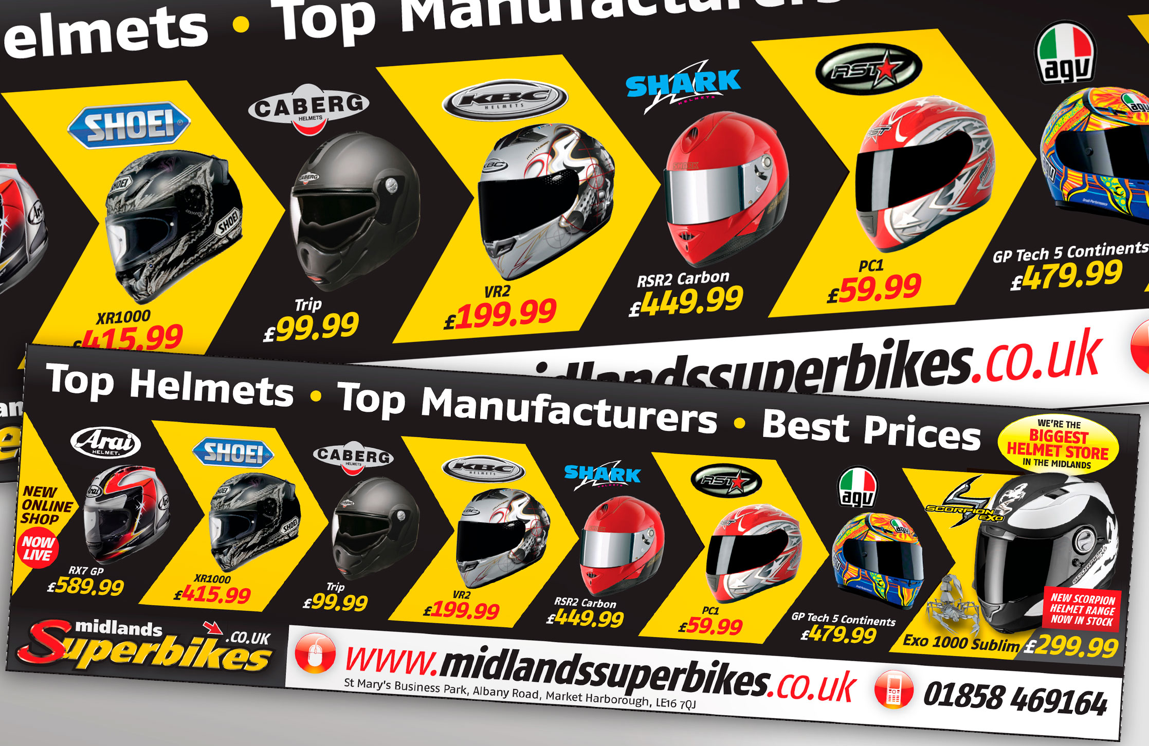 Midland Superbikes Advert