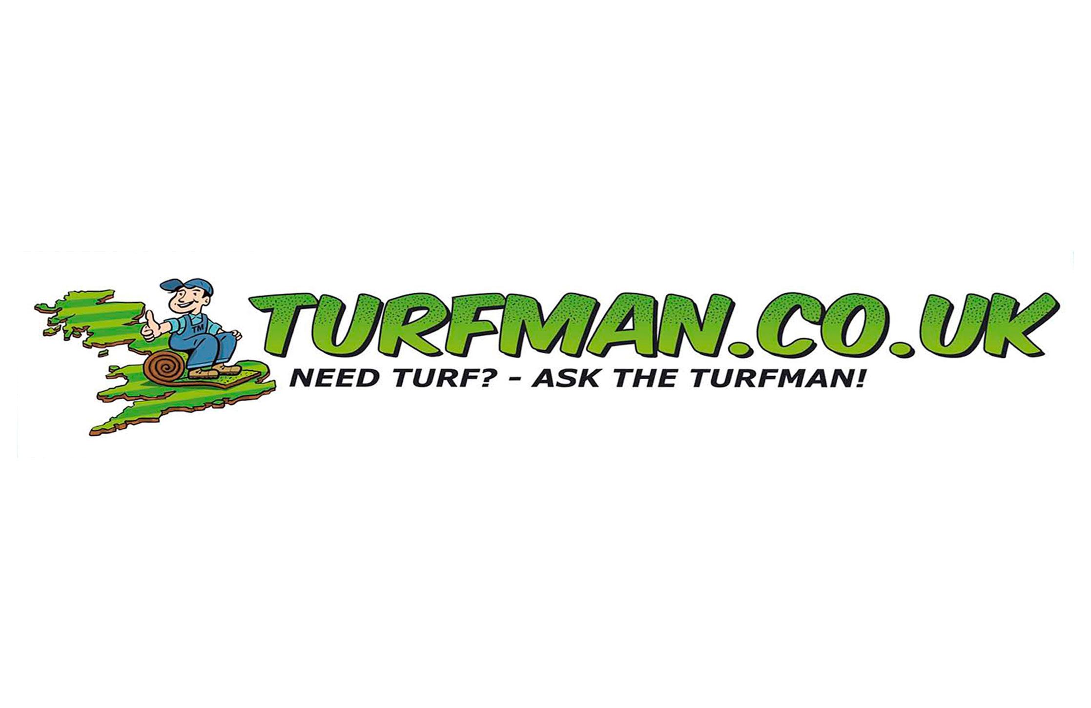 Turfman.co.uk logo design