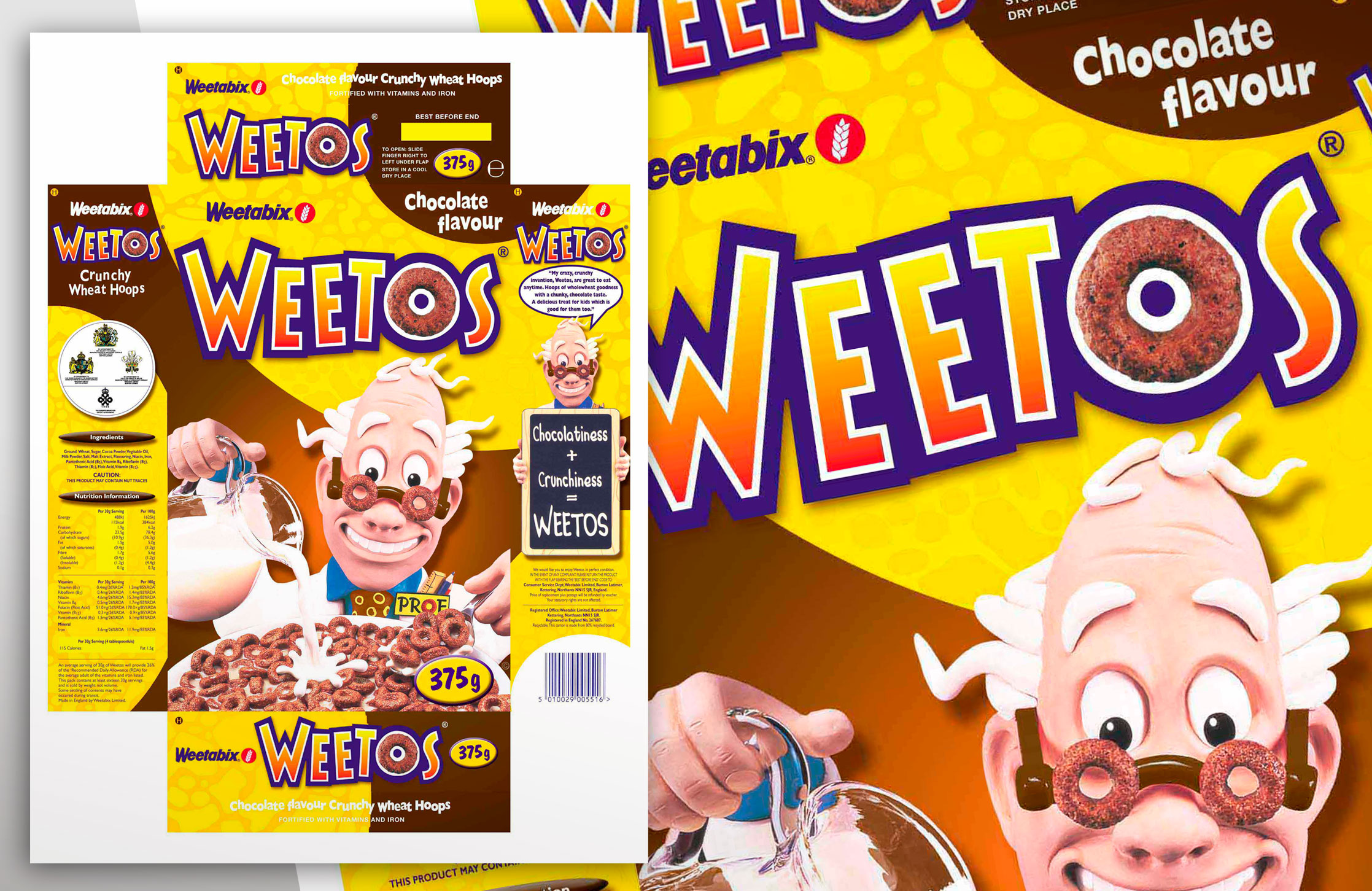 Weetabix Weetos pack