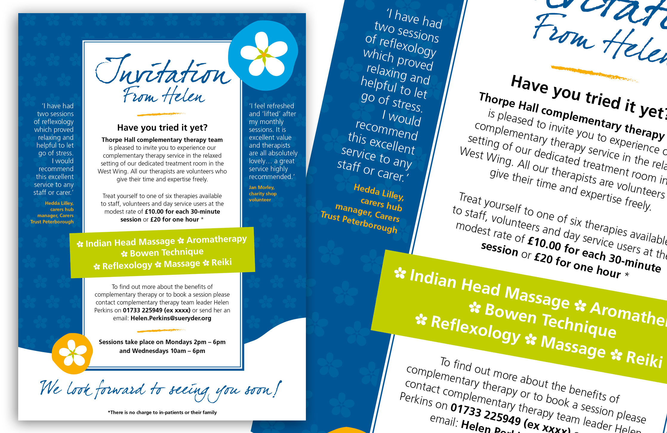 Bowen Therapies Invitation