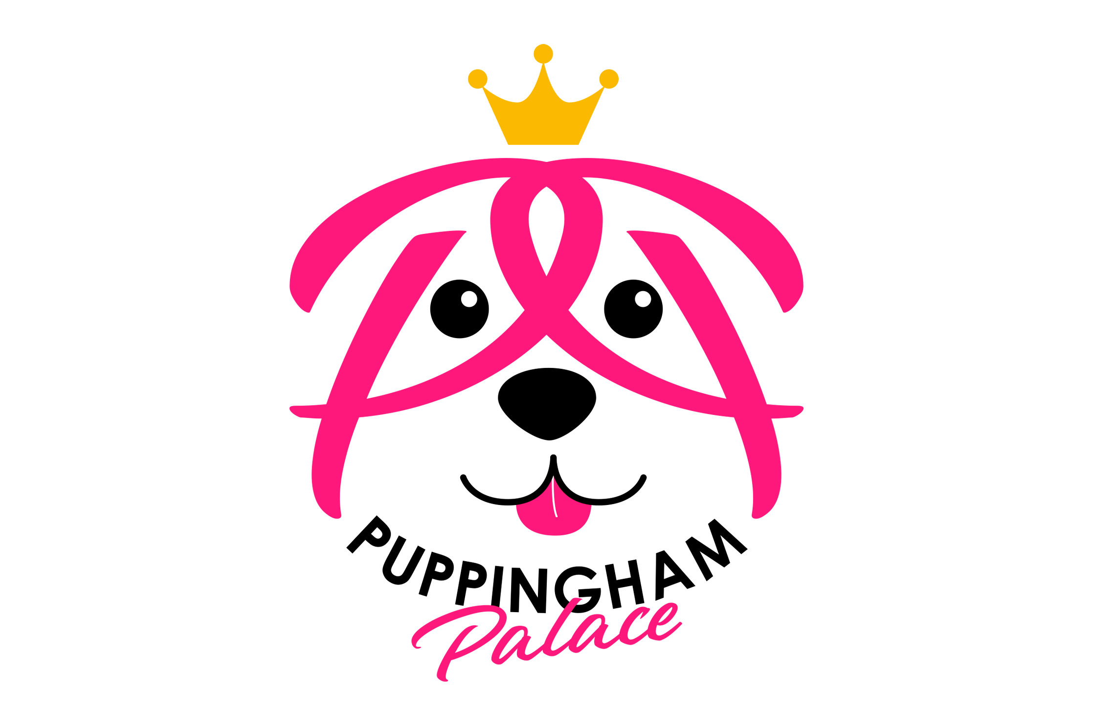 Puppingham Palace dog care logo