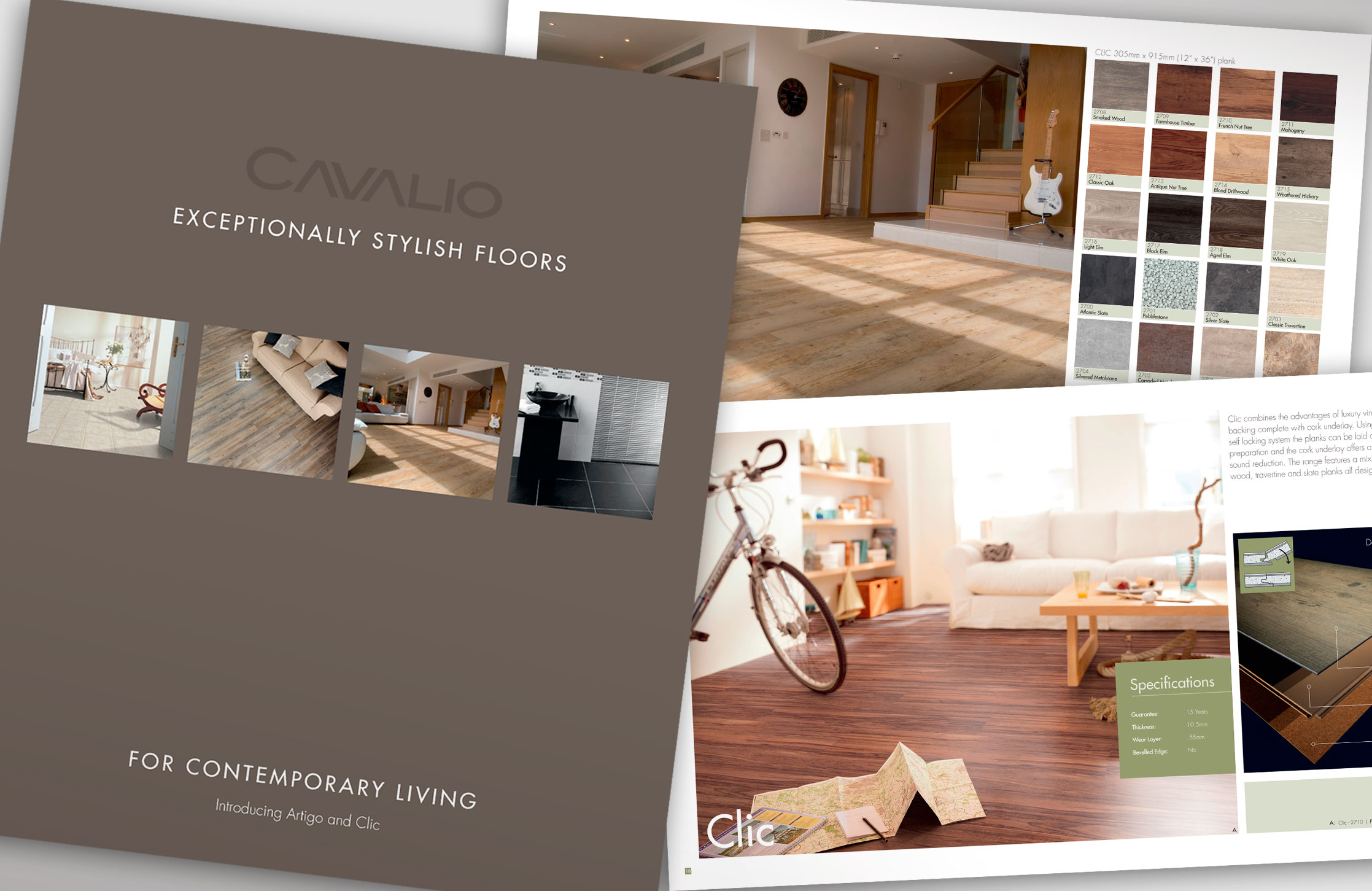 Cavalio flooring catalogue